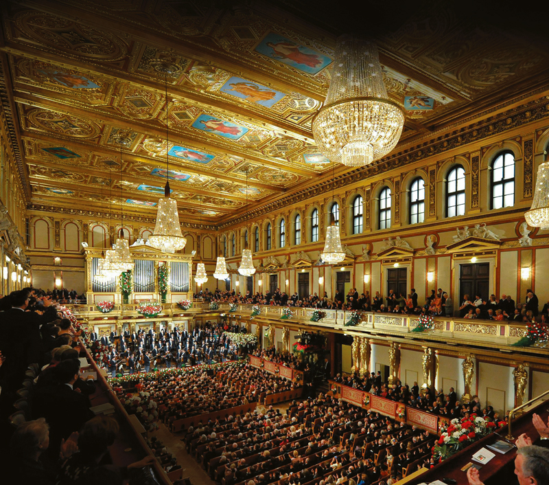 The Vienna Philharmonic Orchestra New Years Concert